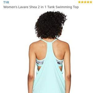 TYR UPF 50 Women's Active 2 IN 1 Swim Tank Top